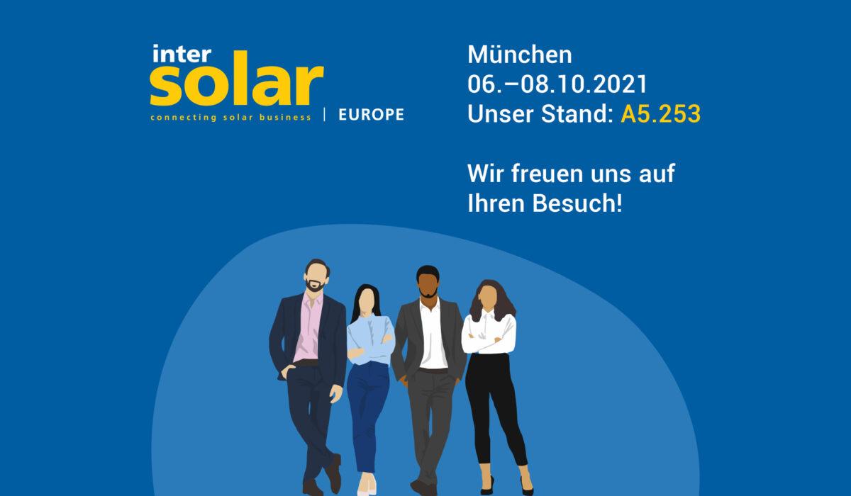 Valentin Software auf der Intersolar Europe in München 2021